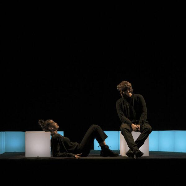 foto di scena dello spettacolo Lungs